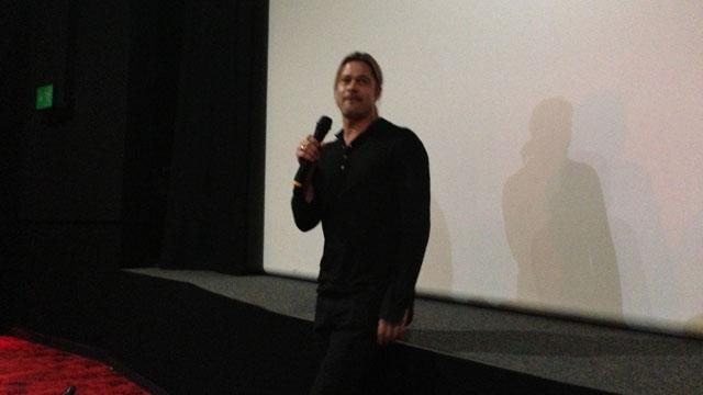 Brad Pitt Makes Surprise 'WWZ' Appearance