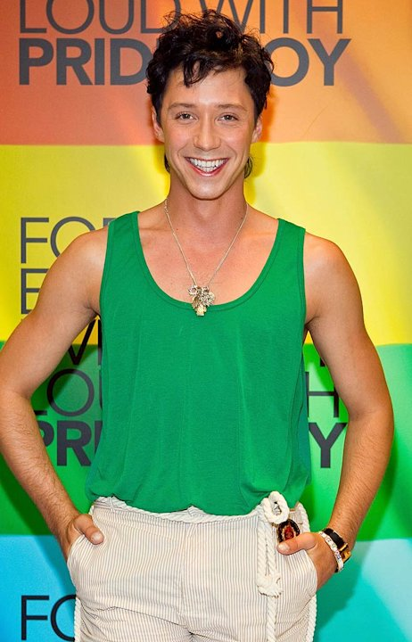 Johnny Weir Macys
