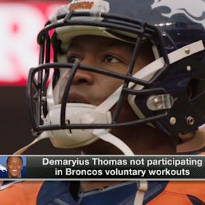 Denver Broncos general manager John Elway: 'I see zero value' in Demaryius Thomas skipping workouts