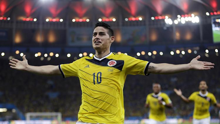 James Rodriguez, most feared man for Brazil at Cup