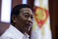 "Vice President Jejomar Binay, who is UNA's chairman, said UNA means ""una sa bayan, una sa kababayan."" (File photo by NPPA Images)"