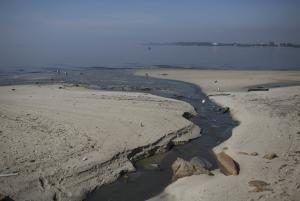 FILE - In this May 15, 2014 file photo, untreated sewage…