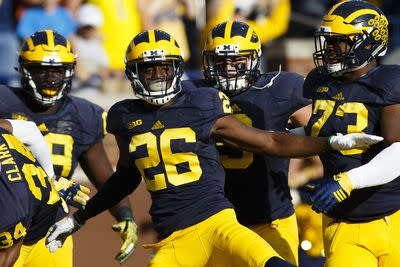 The Michigan Wolverines are already really good again. It's just true.