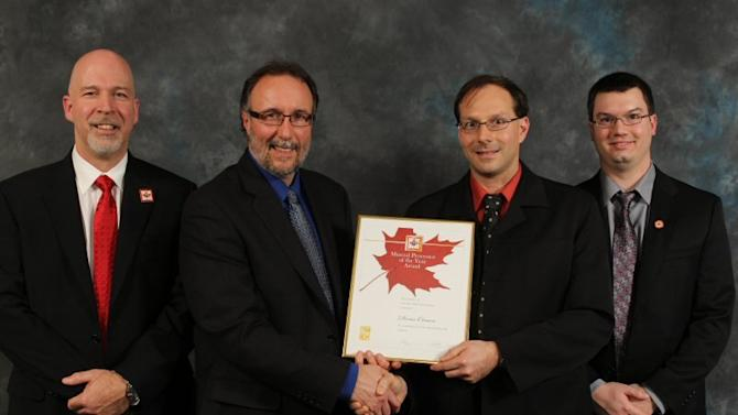 Osisko Mining Corporation: Denis Cimon Receives the 2013 Mineral Processor of the Year Award
