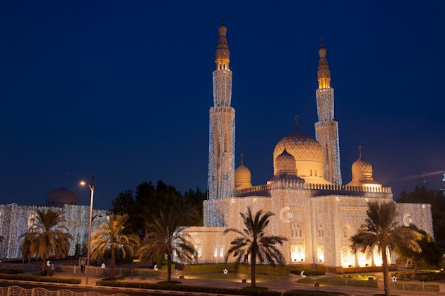 Jumeirah Mosque, situated on Beach Road in Dubai, is arguably the most photographed mosque in the city.