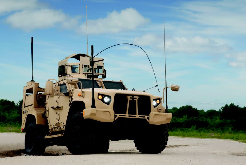 Here is the badass truck replacing the US military's aging Humvees