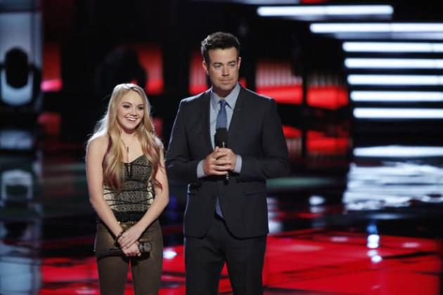 Team Blake's Danielle Bradbery  performs during Night 2 of 'The Voice,' May 7, 2013 -- NBC