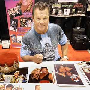 WWE commentator Jerry 'The King' Lawler owns a Batmobile