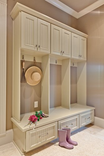 Create a mudroom space