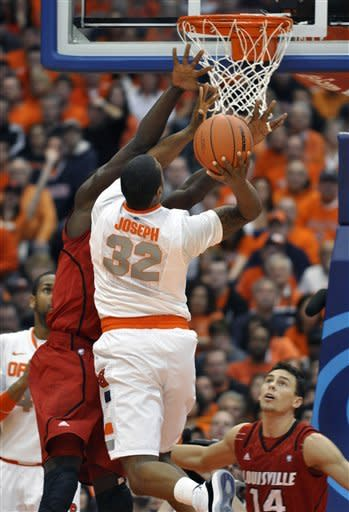 No. 2 Syracuse beats Louisville 58-49 for 30th win