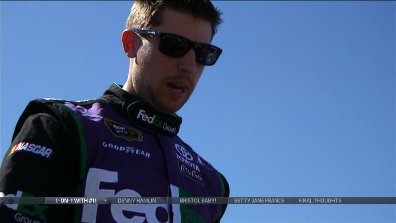 Hamlin doesn't want to have to make up ground at Talladega