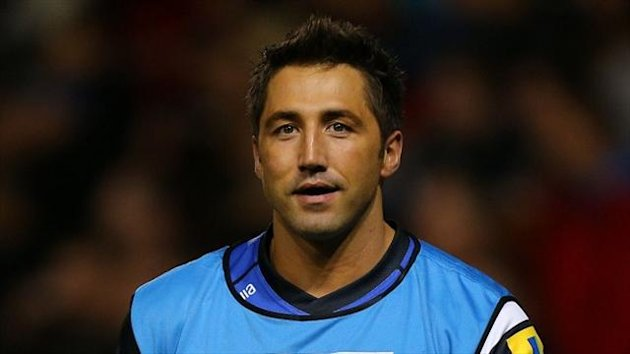 Gavin Henson came off the bench to get one of Bath's tries