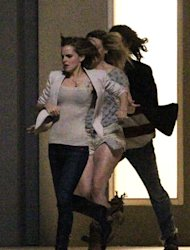 We've had Zooey Deschanel and Alexa Chung, Lana Del Rey and Jaime King and now we can add ANOTHER amazing (and slightly random) celebrity friend mash-up to our list and this time it's Emma Watson and Rihanna. Take a look at these photos of the girls on-set of their new film, 'The End Of The World' - they look like BFFs already, right? We're obsessed already