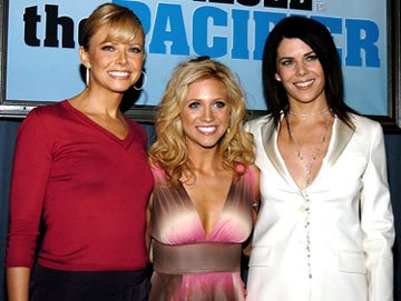 Premiere: Faith Ford, Brittany Snow and Lauren Graham at the Hollywood premiere of Walt Disney Pictures' The Pacifier - 3/1/2005