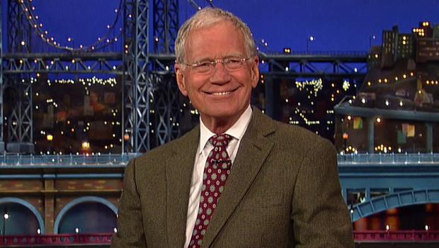 CBS to salute David Letterman with May 4 special