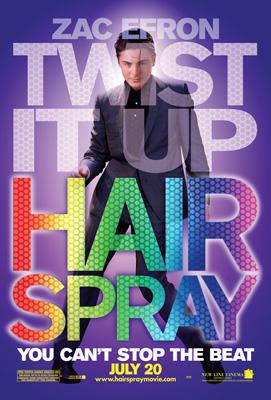 Zac Efron stars in New Line Cinema's Hairspray