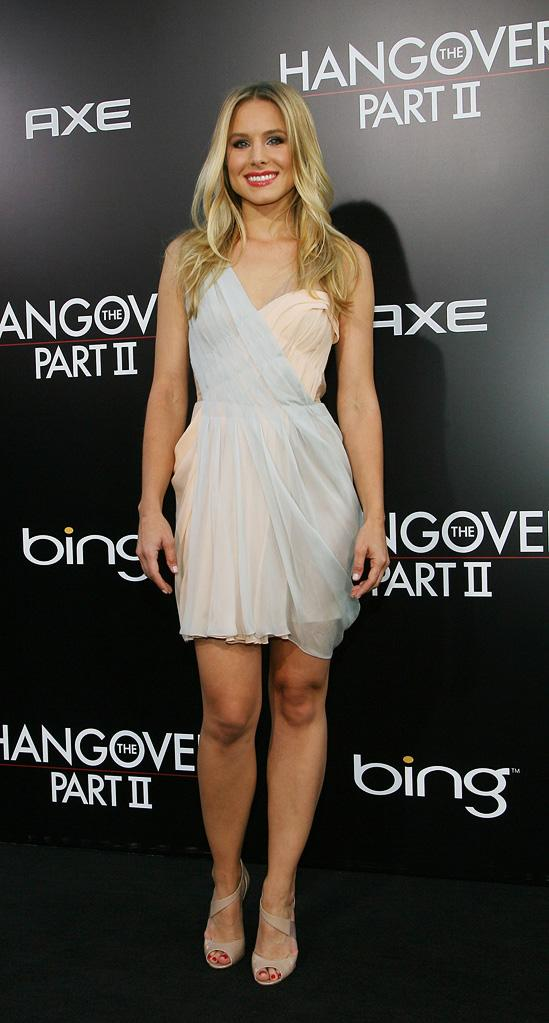 The Hangover Part II LA Premiere 2011 Kristen Bell