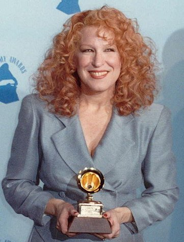 Bette Midler back in her hey-day.