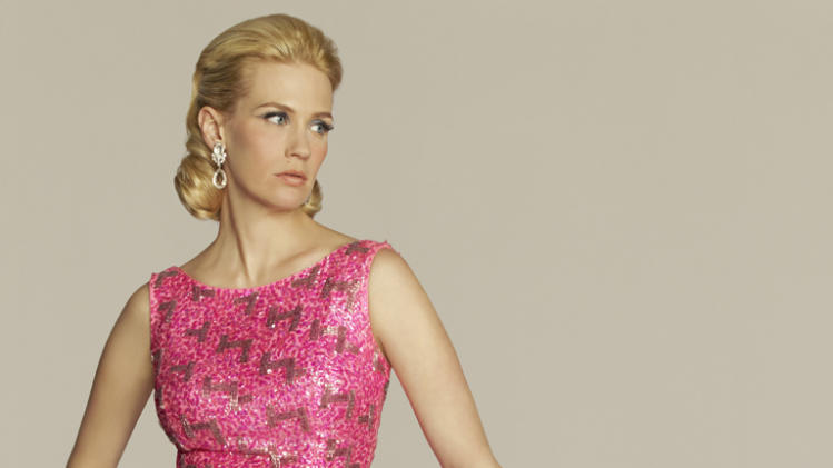 "January Jones stars as Betty Francis in ""Mad Men."""