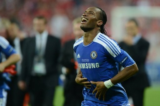 Chelsea's Ivorian forward Didier Drogba