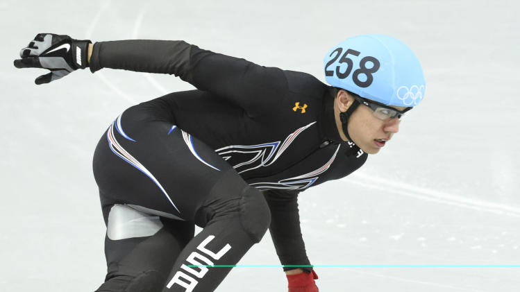 Olympics: Short Track Speed Skating-Men's 1500 m