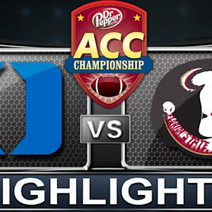 Duke vs Florida State | 2013 ACC Football Highlight