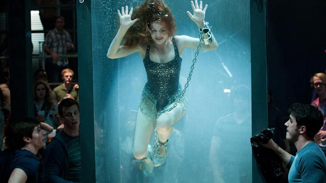 """This undated publicity photo released by Summit Entertainment, LLC shows Isla Fisher, in a scene from the film, """"Now You See Me,"""" Summit Entertainment, LLC. (AP Photo/Summit Entertainment, LLC, Barry Wetcher, SMPSP)"""