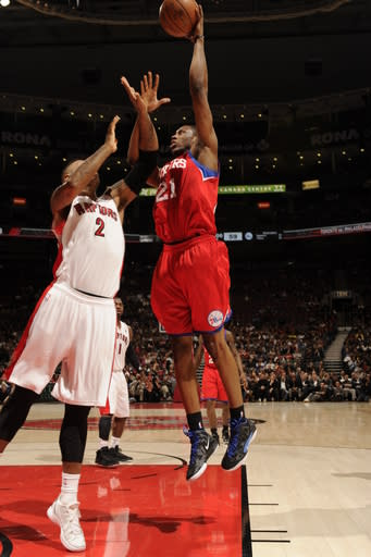 Young scores 17 points as 76ers beat Raptors 93-75