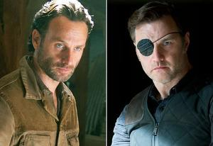 Andrew Lincoln, David Morrissey | Photo Credits: Gene Page/AMC