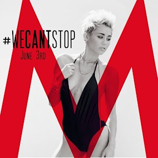 Miley Cyrus Flaunts Sexy Bikini Body For We Can't Stop Countdown Following Rihanna 'Lesbian Kiss'