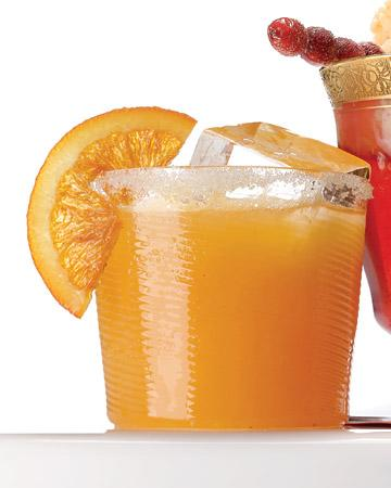 Sparkling Cider and Cara Cara Orange Punch