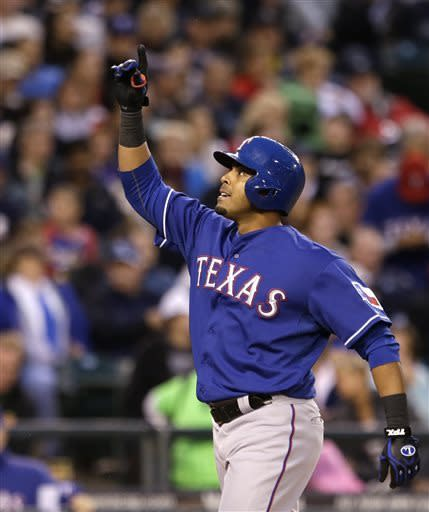 Holland leads Texas past Seattle 5-2