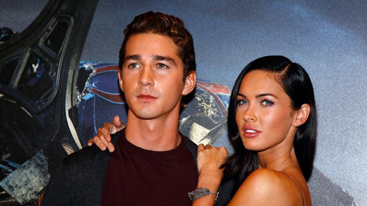 Transformers Revenge of the Fallen Paris Photocall 2009 Shia LaBeouf Megan Fox