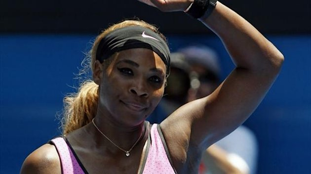 Serena Williams at the Australian Open (Reuters)