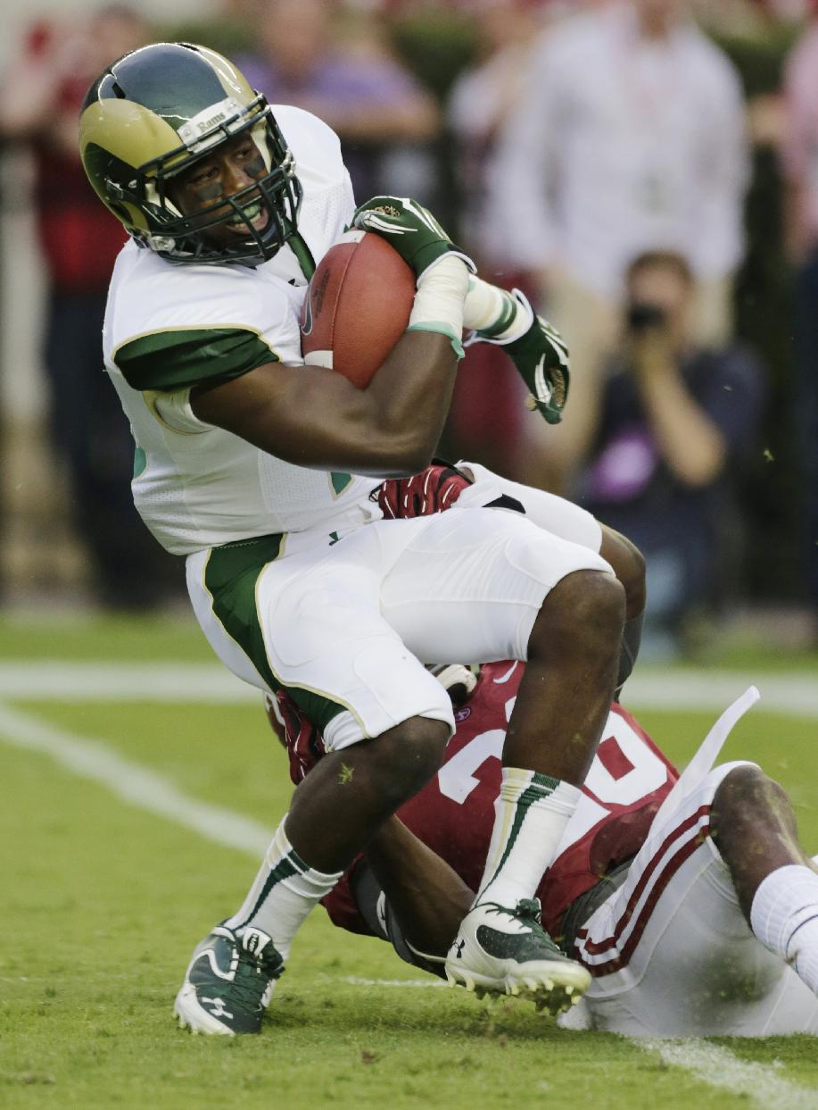 McCarron, No. 1 Alabama beat Colorado State 31-6