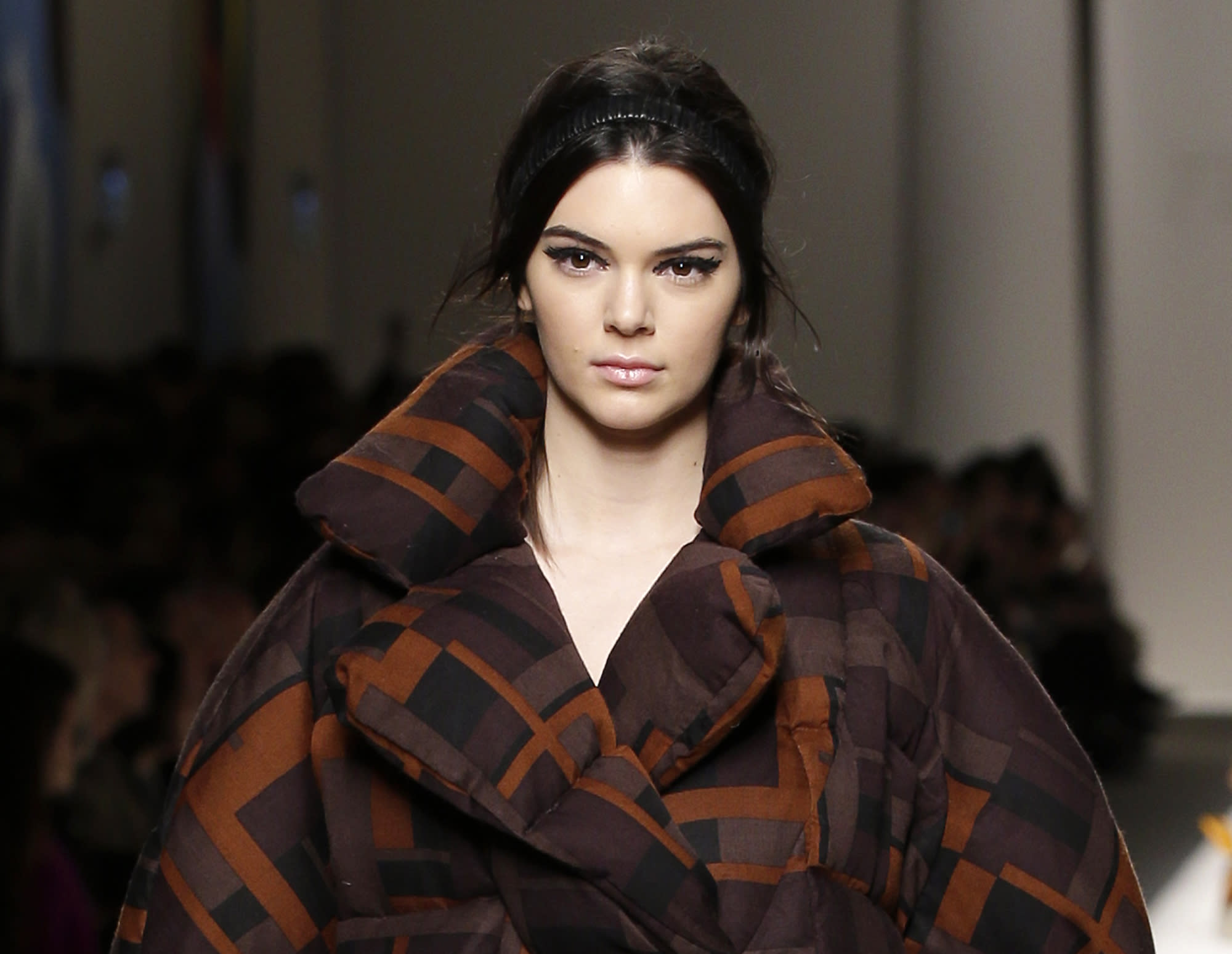 Kendall Jenner struts for Fendi, Kate Mara cozy in Max Mara
