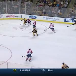 Roberto Luongo Save on Adam McQuaid (09:11/2nd)