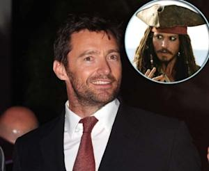 Hugh Jackman, Johnny Depp -- Getty Images