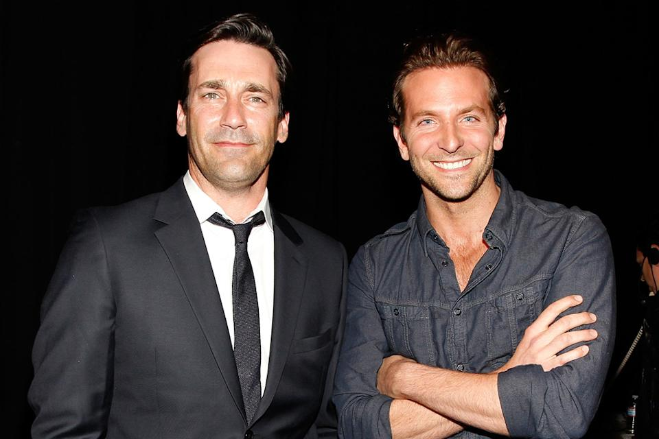2010 Guys Choice Awards Jon Hamm Bradley Cooper