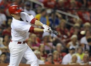Kelly breaks streak, Cardinals beat Brewers 9-3