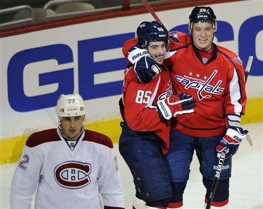 Ovechkin helps struggling Caps beat Canadiens 4-1