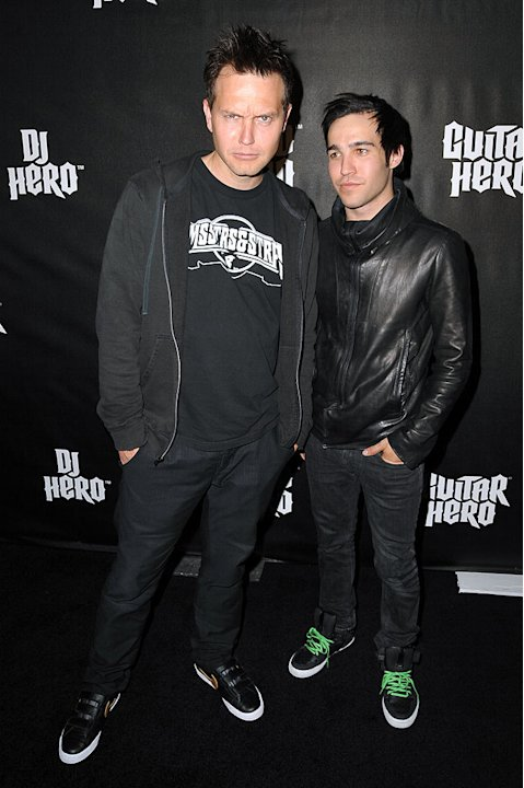 Hoppus Wentz DJ Hero Party