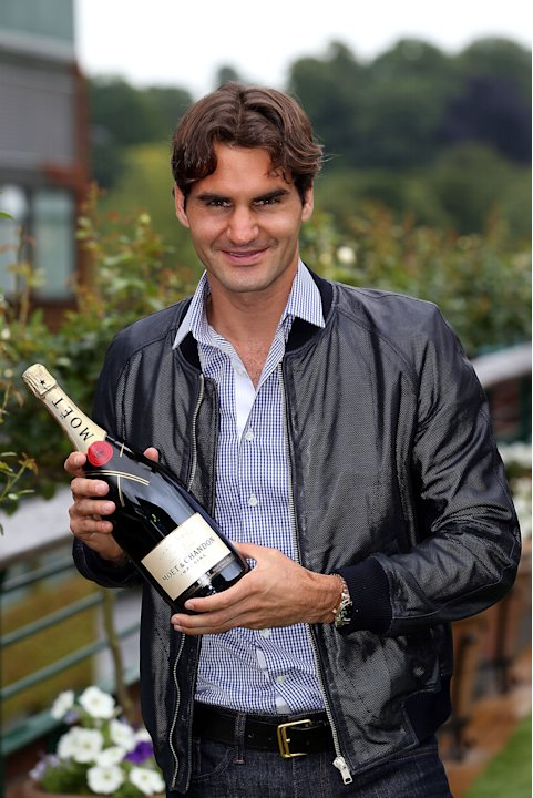 Roger Federer - Wimbledon Photo Call