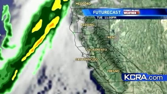 Tuesday Weather Update for Northern California 10.30