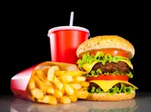 Studies show that parents underestimate the calories in fast food.
