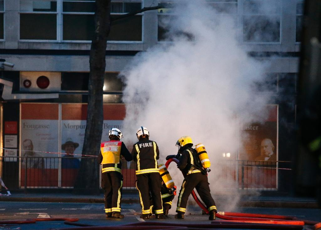 Fire underground causes chaos in London