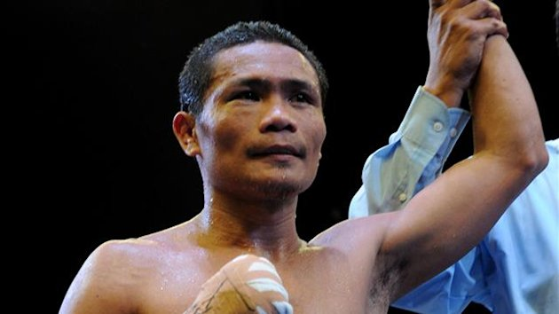 World Boxing Organization light-flyweight champion Donnie Nietes (AFP)
