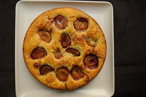 Late Summer Plum Cake