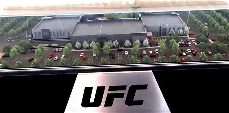 VIDEO: A Look at the New UFC Campus Site in Las Vegas