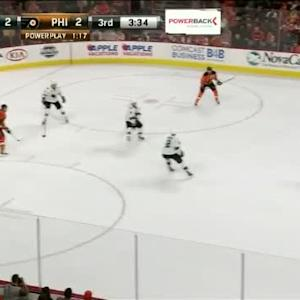 Alex Stalock Save on Michael Del Zotto (16:28/3rd)